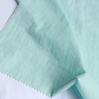 Nylon taffeta fabric wrinkled waterproof fabric